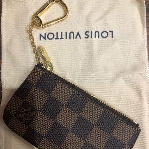 Louis Vuitton Damier key pouch